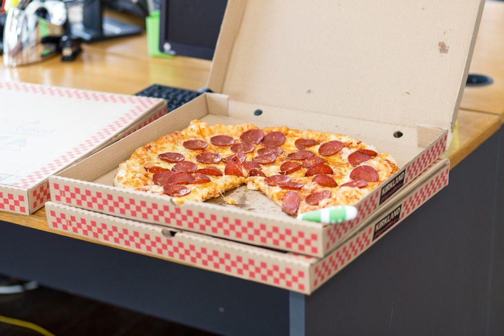 持ち帰りピザの温め方