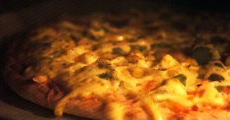 ピザの温め方