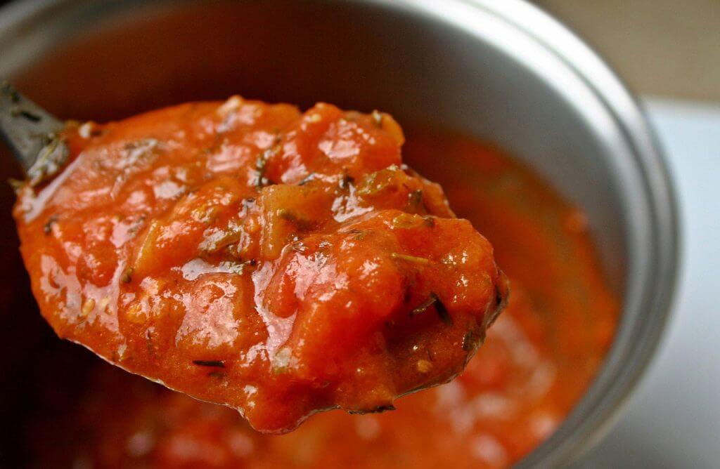 【再現レシピ】ガストと松屋のガーリックトマト、ピザにしました! 2
