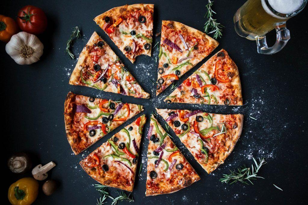 ピザのサイズは何人前が基準?SとMとLの大きさを比較してみた! 3