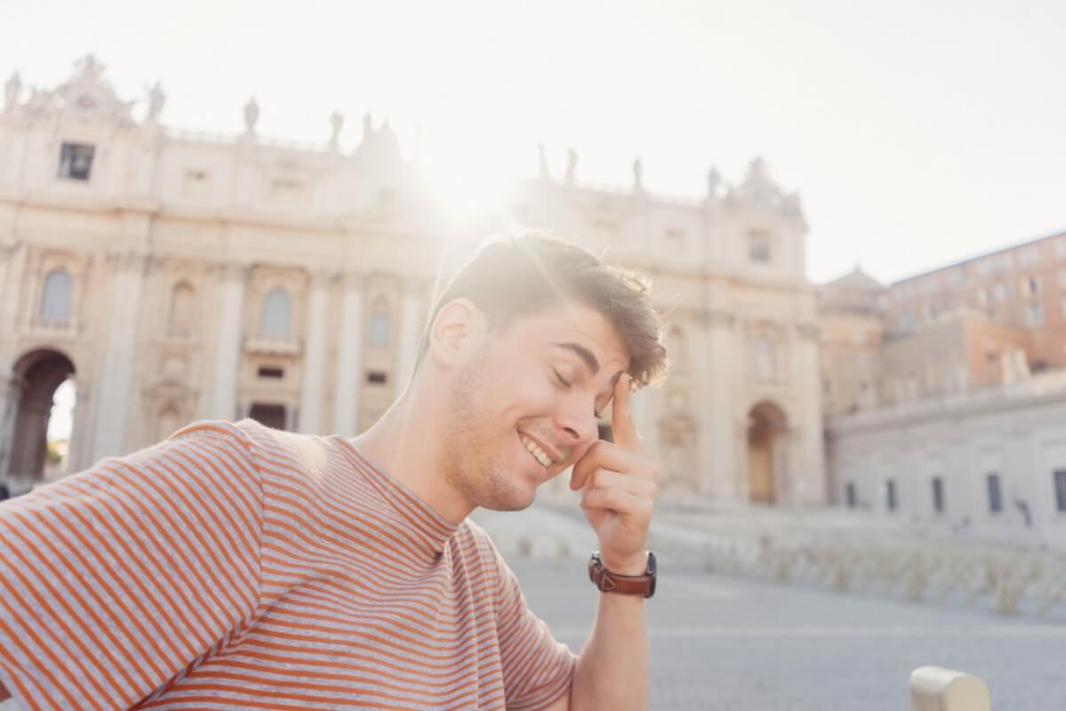 イタリア人男性